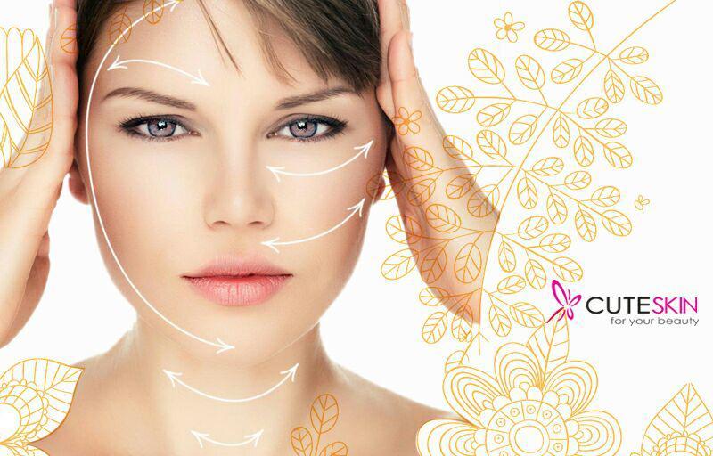ماساژ انواع پوست صورت در خانه