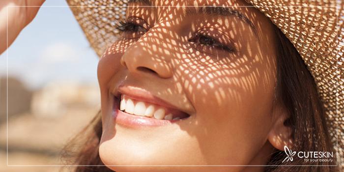 نور خورشید و پوست