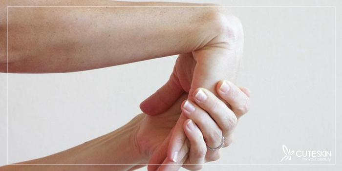 درمان درد کف دست