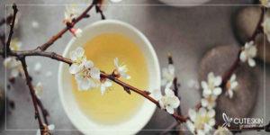 چای سفید برای پوست