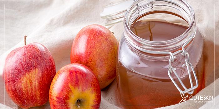 فواید سرکه سیب برای پوست