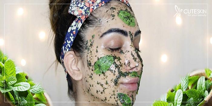 ماسک نعنا برای پوست