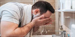پاکسازی پوست بینی با شستشوی روزانه