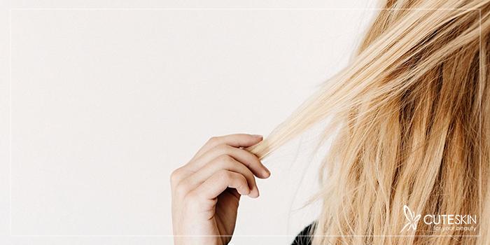درمان سوختگی مو بر اثر رنگ