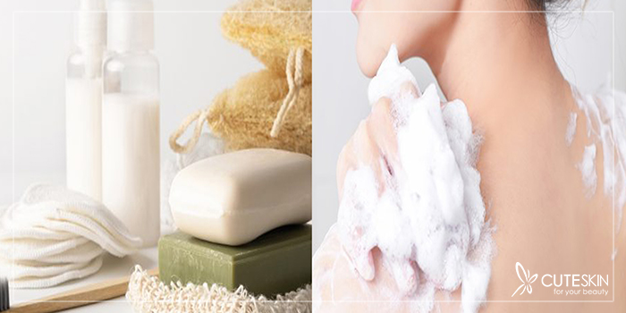 تفاوت شامپو بدن و صابون