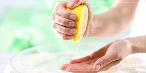 درمان تیرگی زیر بغل با لیمو