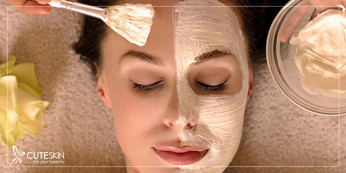 تسکین پوست با ماسک